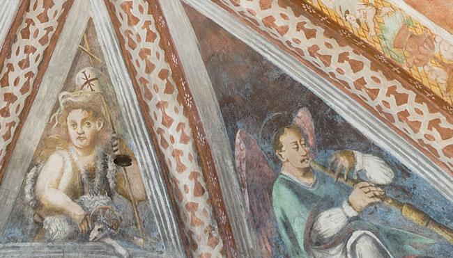 affreschi giulio urbanis restauro