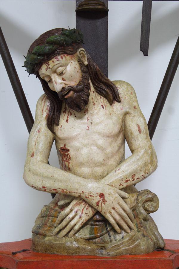 Restauro opera d'arte: Cristo Passo.