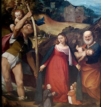 Restauro opera d'arte, Pala della Misericordia o Madonna della Misericordia